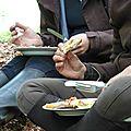 balade equestre gastronomique à La Lucerne d'Outremer (37)