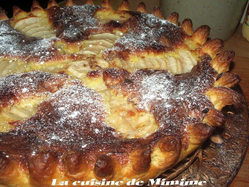 Tarte Frangipane Poires Pralinoise La Cuisine De Mimine
