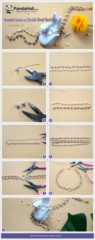 5-PandaHall-Tutorial-on-Crystal-Bead-Necklace
