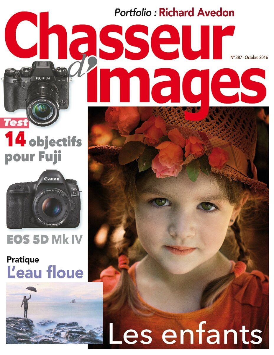 couverture du magazine «Chasseur d'Images» N° 387 Octobre 2016 grand format