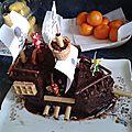 Gâteau bateau fée pirate