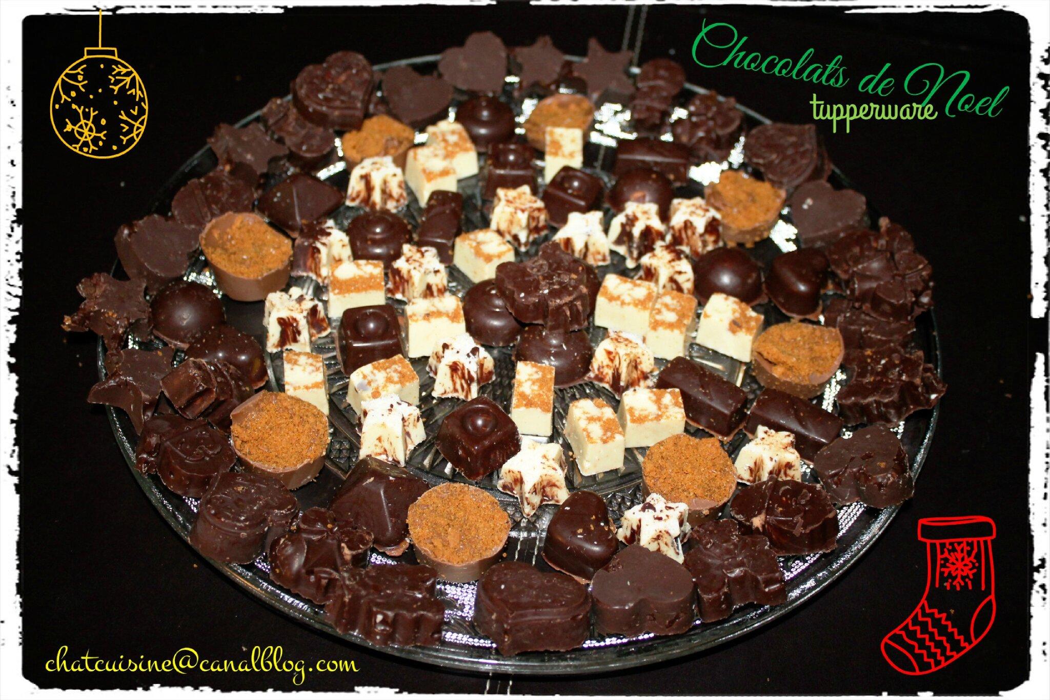Chocolat De Noel Maison Tupperware Chatcuisine