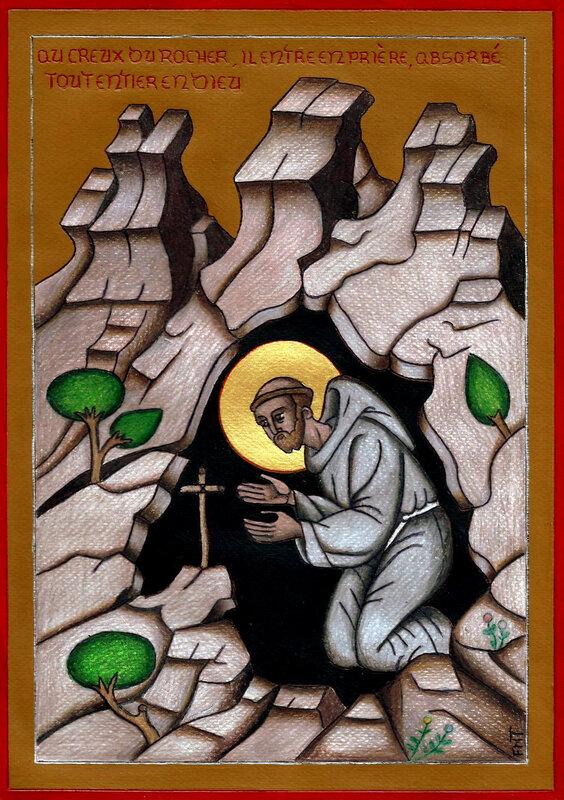 Saint François au désert