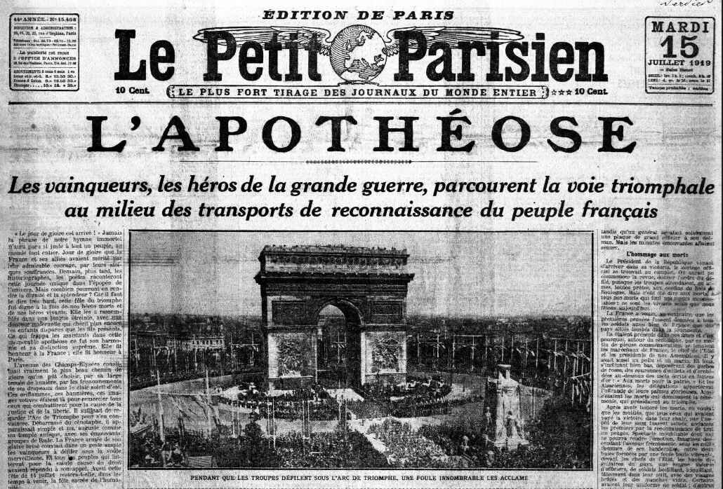 La petit Parisien l'apothéose