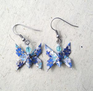 BO Papillon bleu