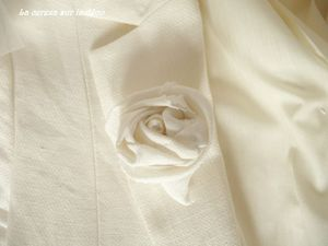 bijou mariage broche perle blanc 3