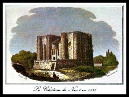 château de Niort 1838