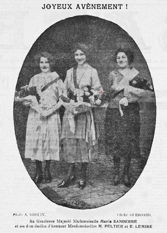1922 03 08 Mi carême L'Alsace Election Reine 1