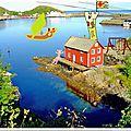 Carte postale de norvège !