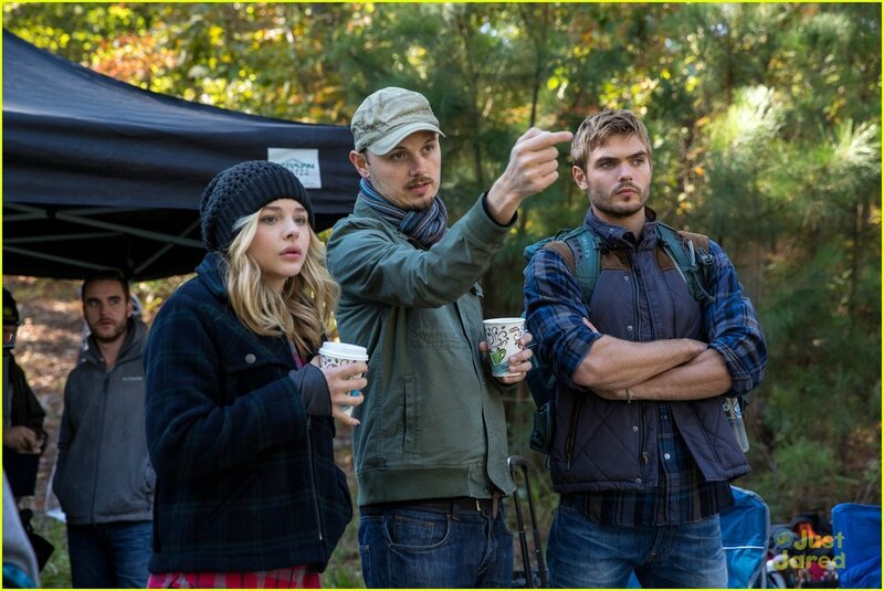 5th Wave_Cassie&Evan_ontheset