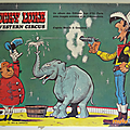 Livre collection ... lucky luke & western circus (1973) * pop-up