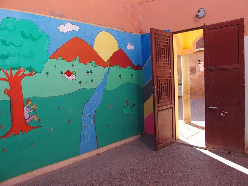 photo 4 la fresque murale