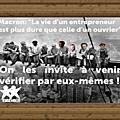 Macron et autre gattaz: ras le bol du mépris de classe!!