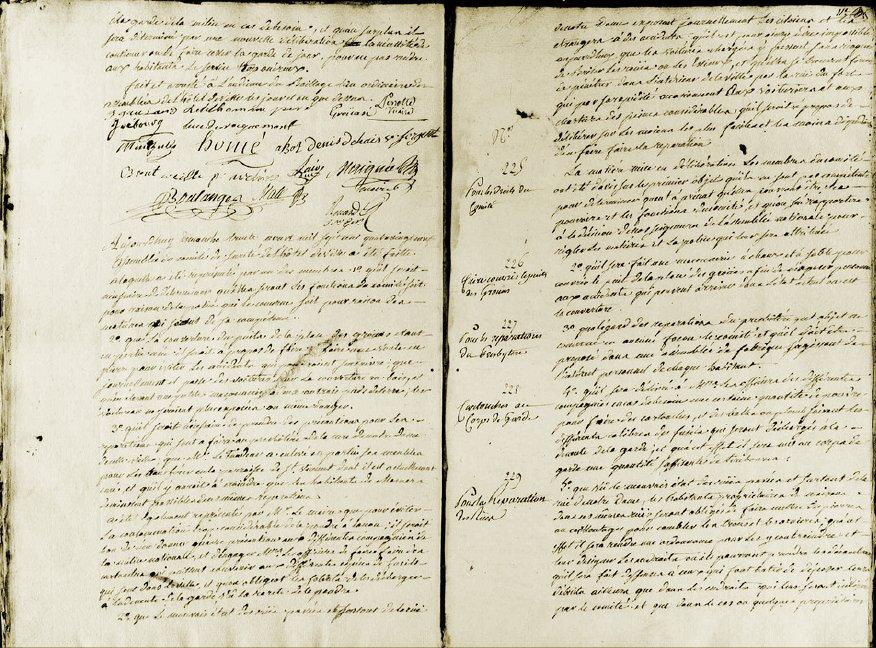 Le 30 août 1789 à Mamers.