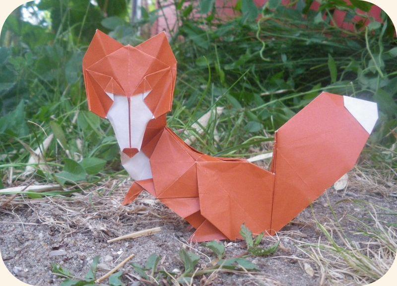 Renarde (Origami Essence, Roman Diaz)