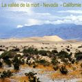 USA - Californie -Nevada - La vallée de la mort