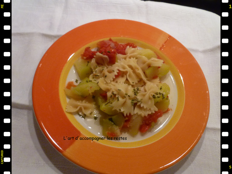 One pot pasta tomatre courgette2