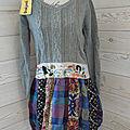 Robe pull bi matiere desigual taille44 (je l'ai en 42 également) 60euros (au lieu de 160euros)