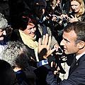 Macron...sur les pas de hollande!