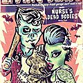 affiche The Living Deads + Nurse's dead bodies