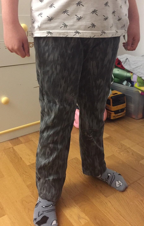 Défi Je couds (ou je tricote) pour un homme #4 : Le pantalon qui change de taille