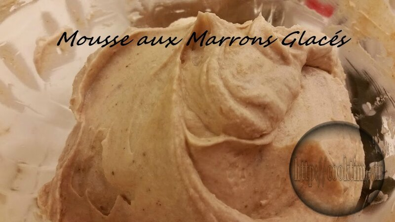 Mousse aux Marrons Glacés Thermomix 2