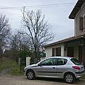 Maison de garde-barrière sur la route du Contour au Billon