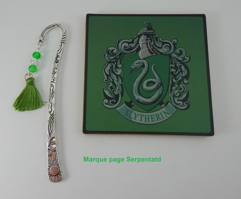 Marque page Serpentard