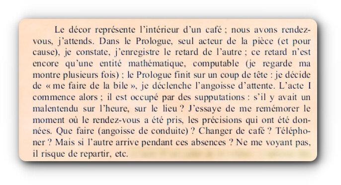 Roland Barthes - Fragments d'un discours amoureux (1977)