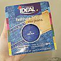 Test teinture ideal pour jeans