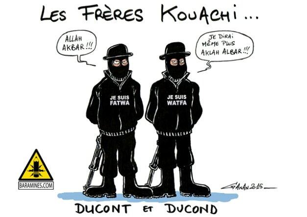 caricature-freres-kouachi-ganan