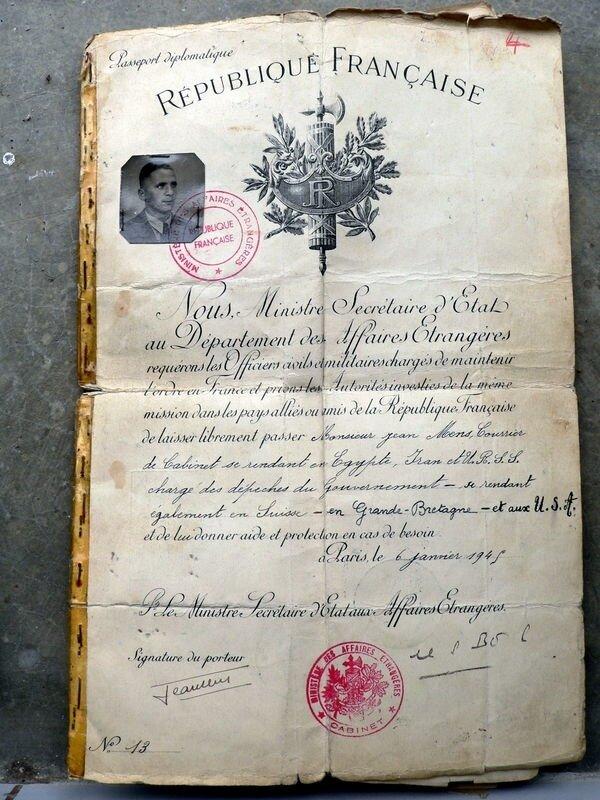 passeport 1944