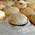 Macarons caramel au beurre salé ou à la compotée de mangue