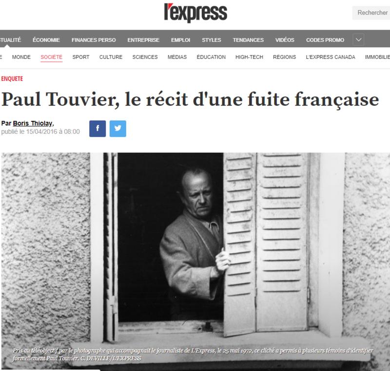 2019-04-07 18_10_24-Paul Touvier, le récit d'une fuite française - L'Express