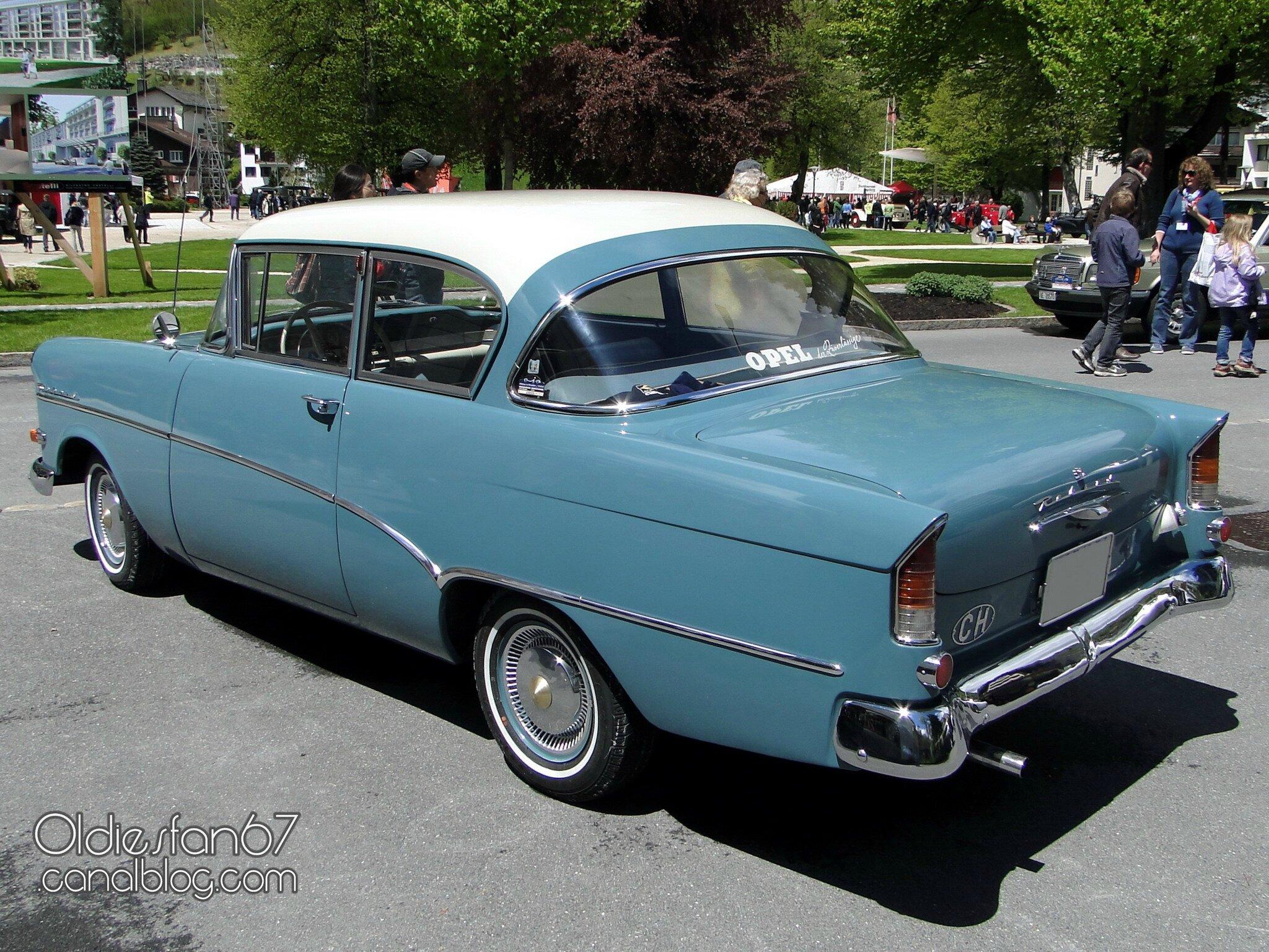"""Opel Rekord P1 1957-1960 - Oldiesfan67 """"Mon blog auto"""""""