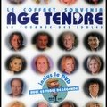 Le coffret souvenir age tendre - la tournée des idoles - editions hugo & cie