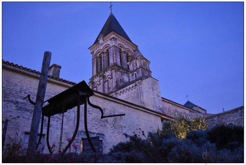 abbaye royale Saint-Vincent de Nieul sur l'Autise