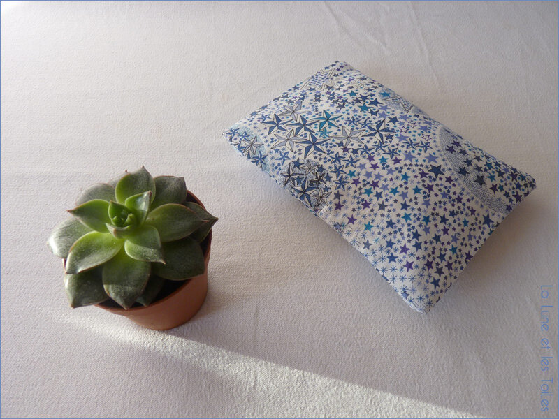 Bouillotte adelajda bleu