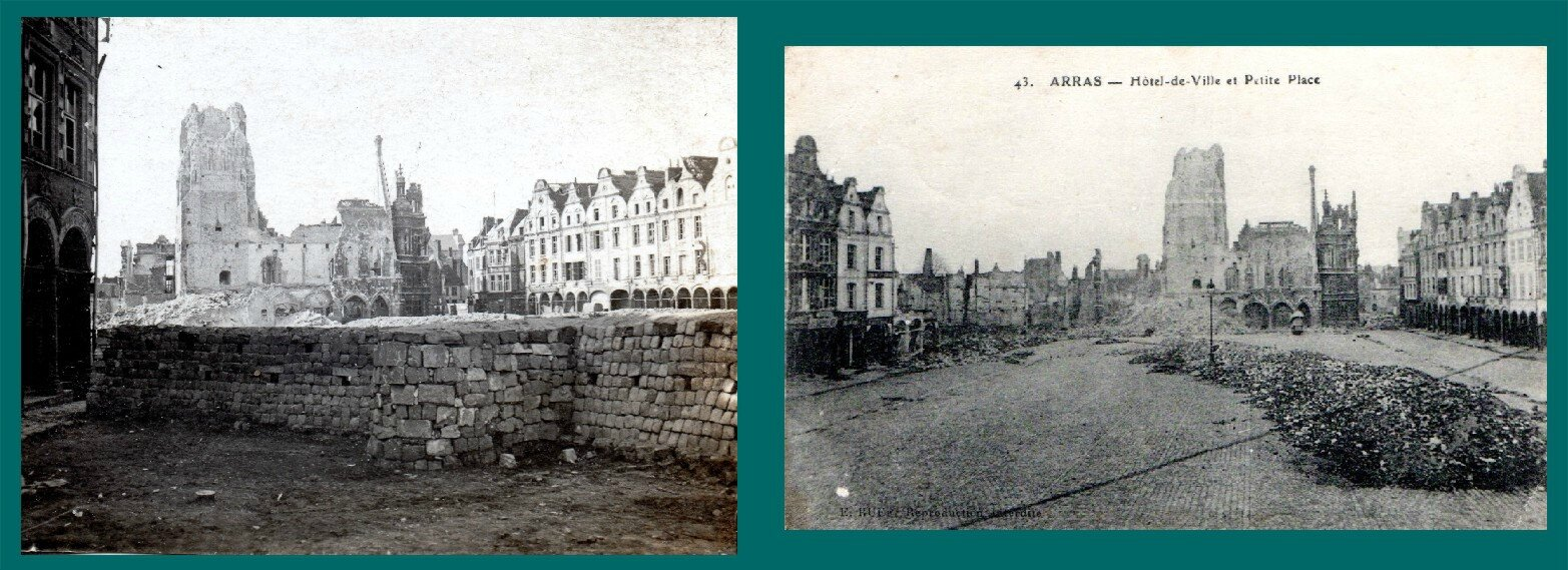 Arras (Pas-de-Calais), Hôtel de ville et petite place