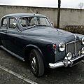 Rover p4 110 saloon - 1962 à 1964
