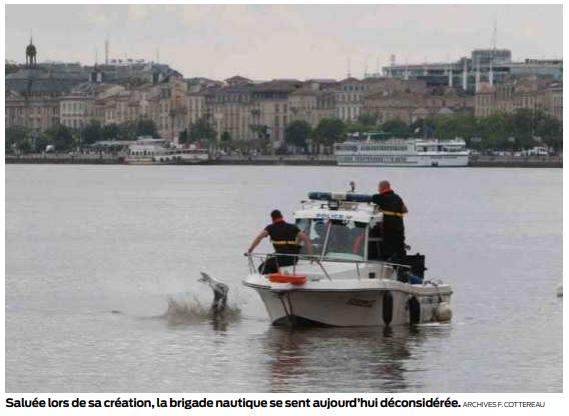 la fin de la brigade nautique