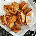 Djouza, les noix aux fruits secs (à la machine)