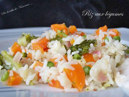 Riz aux légumes 2