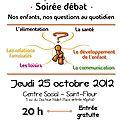 Soirée débat : nos enfants, nos questions au quotidien