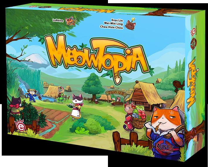 Boutique jeux de société - Pontivy - morbihan - ludis factory - Meowtopia