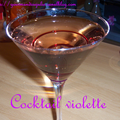 Cocktail à la violette + tags