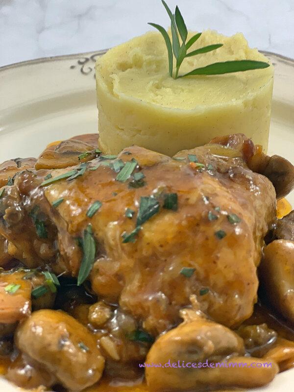 IMG_1557_FotorHauts de cuisses de poulet façon chasseur (au Cookeo ou pas) 2