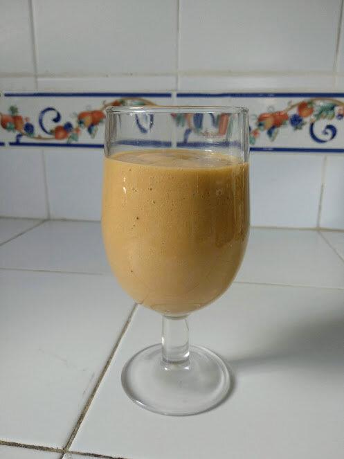 Milkshake de sapote blanche (2)