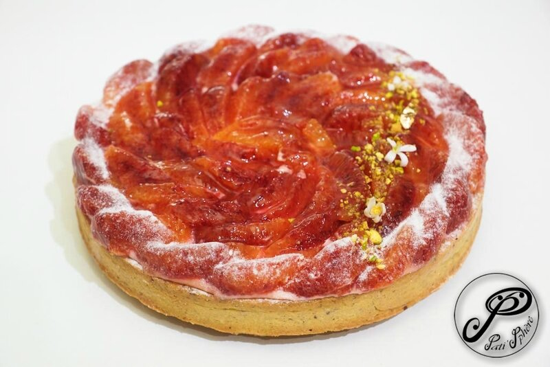 tarte orange sanguine-1