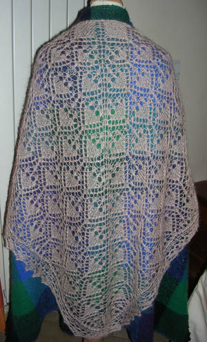 Châle de let's knit serie n°13